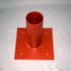 ADJUSTABLE ROUND POLE BRACKET – 110mm